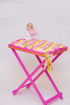 Picture of Flowral  Girl Tray